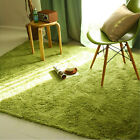 Shaggy Soft Anti-skid Area Rug Dining room Carpet Bedroom Floor Mat