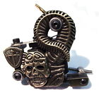 SKULL Tattoo Machine ( Gun ) - CHOOSE SHADER,  LINER or PACKER - UK SELLER