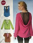 McCall's 7051 Sewing Pattern to MAKE Loose Pullover Top with Back Variations