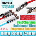 Remax 2-IN-1 Transformer King Kong Charger Cable for iPhone 5 6 Plus & Micro USB