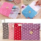 Women Girl Cute Pink Sanitary Napkin Towel Pads Small Bag Purse Holder Organizer