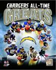 San Diego Chargers All Time Greats Composite Photo (Select Size)