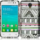 Alcatel ONETOUCH Pop Star LTE Rubberized HARD Protector Case Snap Phone Cover