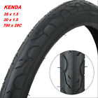 Kenda MTB Tires K193 20/26 in x1.5/700x28C Bmx Bicycle Outer Tires Tyre Slicks