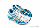 Asics Gel-Kayano 18 running shoes for women - White / Island Blue / Black