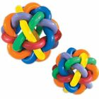 """Multi-Pet Nobbly Wobbly II EXTRA TOUGH Rubber Balls Dog Toy 3"""" or 4"""""""