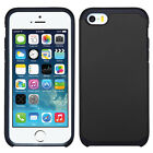 Apple iPhone 5 5S SE HARD Astronoot Hybrid Rubber Silicone Cover + Screen Guard