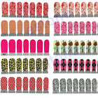 Nail Art Foils Wraps Decoration Tips Decals Water Transfer Sticker + Nail file