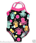 BABY GIRLS BACK FRILLED OCTOPUS SWIMMING COSTUME 6-12,12-18,18-24 MONTHS