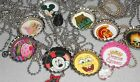 "Handmade FUN! Charm Bottle Cap Necklace 12"" Metal Chain You Choose Design!"