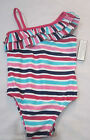 BABY GAP Girls Multi Color One Shoulder Bathing Swimsuit 12-18 18-24  2  3  4  5