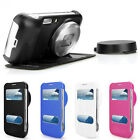 1PC Flip Leather Case Cover For Samsung Galaxy S4 S IV Zoom C101 Stylish