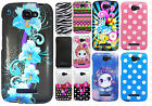 Alcatel OneTouch Pop Icon HARD Protector Case Snap On Phone Cover + Screen Guard