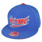 NBA Mitchell Ness TK40 Detroit Pistons Alternate Fitted Flat Bill Hat Cap