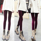 Simple Fashion Womens Solid Leggings Full-length Render Pants Trousers New 6299