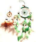 HANDMADE DREAM CATCHER WITH GENUINE FEATHERS IN TWO SIZES