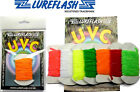 Lureflash ULTRA VIOLET CHENILLE Fly Tying Material Trout Fishing Flies (UVC/..)