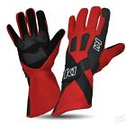 RED Gloves Nomex Auto Gear Racing Kart Blue Pro X K1 Race SFI Approved