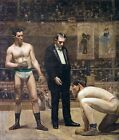 Taking the Count, Thomas Eakins (classic boxing print)
