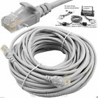 CAT5e RJ45 Ethernet Network Patch Lead Cable 1M 2M 5M 9M 15M 20M 30M 40M 45M 50M