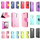 For LG G3 Vigor Tough Wallet Pouch Cover Protective Flip Case + Screen Protector