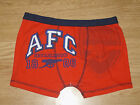Jungen Arsenal Gunners Boxer Shorts Ages 5-6 7-8 9-10 11-12 (162)