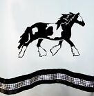 Gypsy Vanner Cob Drum Horse Shower Curtain *Your Choice of Colors* - Original