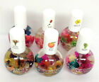 Blue Cross- Blossom- Cuticle Oil with Real Flowers 0.5fl.oz -Pick any scent