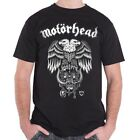 Licensed MOTORHEAD Hiro Double Eagle Lemmy Heavy Metal T-Shirt Black Mens S-XXL