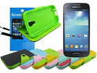 Leather Wallet Case with TPU+Screen Protector for Samsung Galaxy S4 Mini i9190