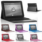 For iPad 3rd 4th 2 Stand Leather Case Folio Cover Bluetooth Wireless Keyboard