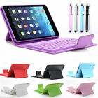 Bluetooth Wireless Keyboard Case Stand Leather Folio Cover For iPad Mini 3 2 1st