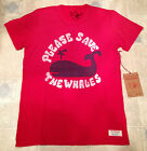 AUTHENTIC TRUE RELIGION T Shirt LOVE WHALES CREW NECK TEE Red Mens Size XXL