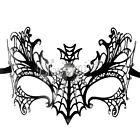 Sexy Venetian Metal Filigree Masquerade Party Mask Laser Cut with Rhinestones