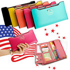 Kyпить New Fashion Lady Women Leather Clutch Wallet Long Card Holder Case Purse Handbag на еВаy.соm