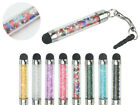 3.5mm Plug Crystal Beads Capacitive Stylus for Touch Screen Smart Phone Mobile