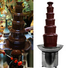 """32.3"""" Commercial 6 Tiers Stainless Party Hotel Large 82cm Chocolate Fountain cheap"""