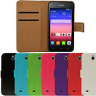 Flip Pu Leather Flip Case Wallet Cover For The Huawei Ascend Y550