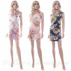SHE LIKES Floral Wiggle Stretch Dress Size S/M M/L Ladies Summer Evening Party