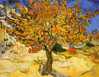 Canvas Art Print Mulberry Tree by Vincent van Gogh Vintage Painting Reproduction