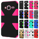 Samsung Galaxy Core Prime IMPACT TUFF HYBRID Protector Case Skin Phone Covers