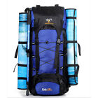 Outdoor Travel Backpack Large Capacity Waterproof Hiking Bag TB US