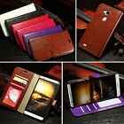 For HUAWEI Ascend Mate7 Mate 7 Luxury PU Leather Stand Flip Case Cover Skin