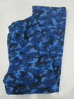 Boys Gap Kids Blue Camo Fleece Pajama Pants Sz 6, 8,