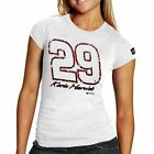 Chase Authentics Kevin Harvick Women's Big Number T-Shirt - White