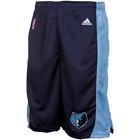 adidas Memphis Grizzlies Youth Replica Shorts - Navy Blue