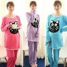 New Lovely Home Pyjamas Sleepwear Sets Cotton Pregnant Feeding Out clothes Suits