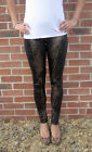 LONG LENGTH  Leggings Snakeskin with Spandex SIZES 8 - 18 Tall