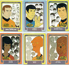 STAR TREK ANIMATED ADVENTURES BRIDGE CREW CARD SINGLES