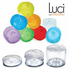 LUCI SOLAR POWERED LIGHT BRIGHT LANTERN FOR GARDEN FLOATING POND DISPLAY OUTDOOR